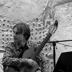 Francis Brunet-Turcotte, guitariste. Fenêtres intérieures (OVI)