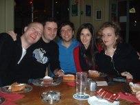 Genève 2005. Rob Mackay, Hervé Birolini, Sébastien Roux, Abril Padilla, R.Turcotte