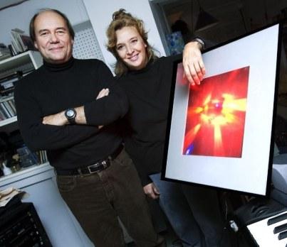 François Doyon, concepteur visuel et éclairagiste. Photo: Martine Doyon