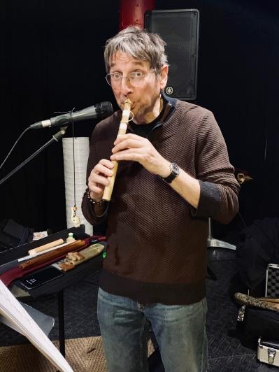 Michel Dubeau, répétition Boîte à musique