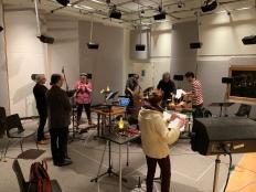 Répétition à l'UdeM, faculté de musique, Studio B-187